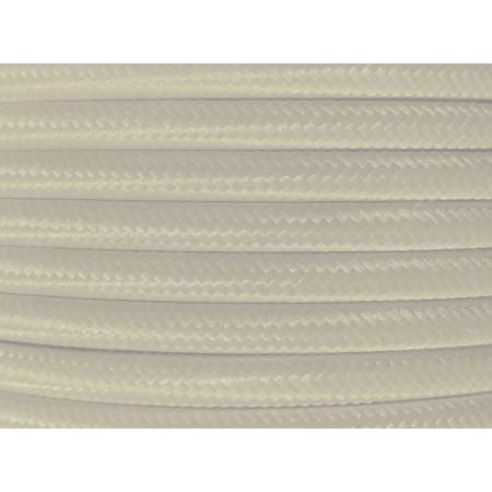 Cable Textil Blanco