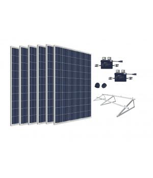 Kit 6 Paneles Solares