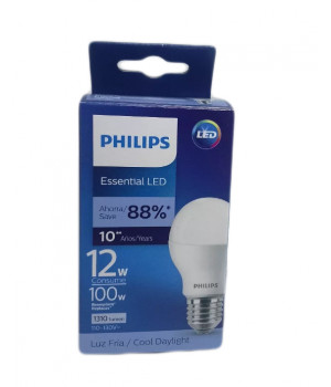 Foco LED Philips 12W Blanco 6500K