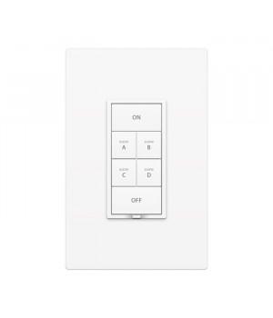 keypadlinc Dimmer de 6 botones Dual-Bland