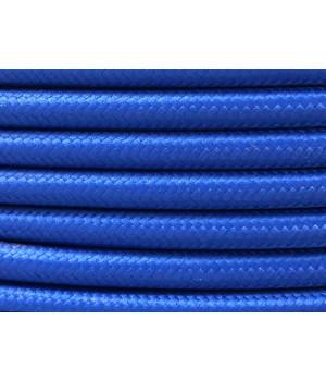 Cable Textil Azul Eléctrico