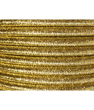 Cable Textil Dorado Glitter