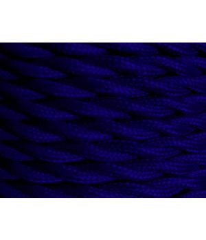 Cable Textil Azul Marino Trenzado