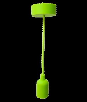 Colgante De Silicón Verde