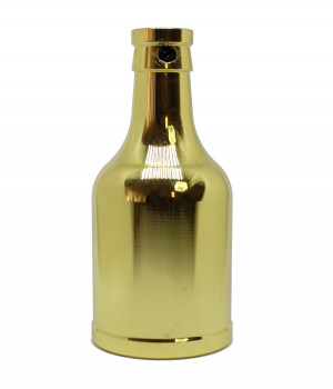 Socket   Decorativo Botella Oro