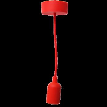 Colgante De Silicón Roja