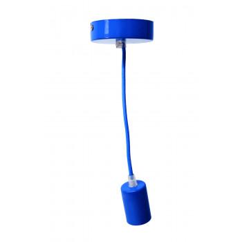 Colgante Metálica Azul
